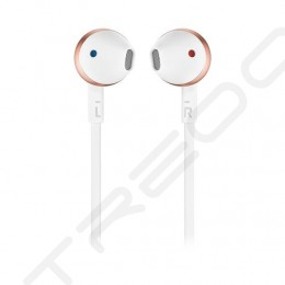 JBL TUNE 205BT (T205BT) Wireless Bluetooth In-Ear Earphone with Mic - Rose Gold
