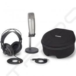 Samson C01U Pro Podcasting Pack USB Cardioid Condenser USB Microphone