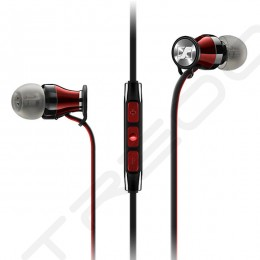 Sennheiser MOMENTUM In-Ear (M2 IE) In-Ear Earphone with Mic - Black Red