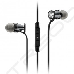 Sennheiser MOMENTUM In-Ear (M2 IE) In-Ear Earphone with Mic - Black Chrome