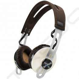 Sennheiser MOMENTUM On Ear (M2 OEBT) Wireless Bluetooth Noise-Cancelling On-Ear Headphone with Mic - Ivory