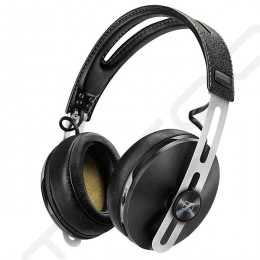 Sennheiser MOMENTUM Around-Ear (M2 AEBT) Wireless Bluetooth Noise-Cancelling Over-the-Ear Headphone with Mic - Black
