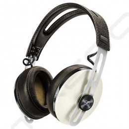 Sennheiser MOMENTUM Around-Ear (M2 AEBT) Wireless Bluetooth Noise-Cancelling Over-the-Ear Headphone with Mic - Ivory