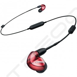 Shure SE535 Special Edition 3-Driver Wired/Wireless Bluetooth In-Ear Earphone with Mic - Red