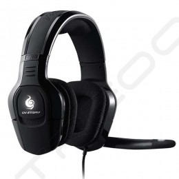 Cooler Master Sirus C Over-the-Ear Headphone with Mic - Black