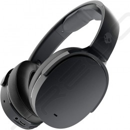 Skullcandy Hesh ANC Wireless Bluetooth Active Noise-Cancelling Over-the-Ear Headphone with Mic - True Black