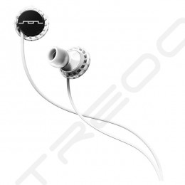 SOL Republic Relays Sport In-Ear Earphone with Mic for iOS - White