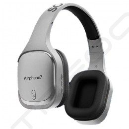 SonicGear Airphone 7 (2019) Wireless Bluetooth Over-the-Ear Headphone with Mic - Gunmetal