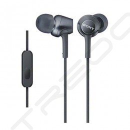 Sony MDR-EX250AP In-Ear Earphone with Mic - Black