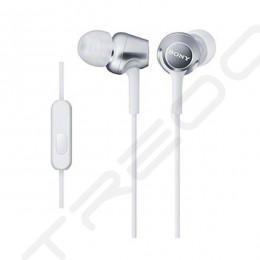 Sony MDR-EX250AP In-Ear Earphone with Mic - White