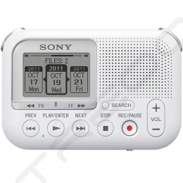 Sony ICD-LX30 Portable Digital Audio & Voice Recorder - White
