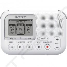Sony ICD-LX30 Portable Digital Audio & Voice Recorder - White