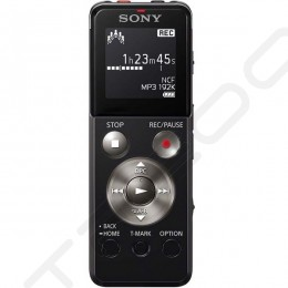 Sony ICD-UX543F Portable Digital Audio & Voice Recorder - Black