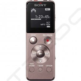Sony ICD-UX543F Portable Digital Audio & Voice Recorder - Brown