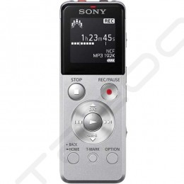 Sony ICD-UX543F Portable Digital Audio & Voice Recorder - Silver