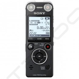 Sony ICD-SX1000 Portable Digital Audio & Voice Recorder - Black