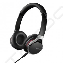 Sony MDR-10RC On-Ear Headphone with Mic - Black