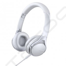 Sony MDR-10RC On-Ear Headphone with Mic - White