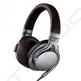 Sony MDR-1A Over-the-Ear Headphone with Mic - Silver
