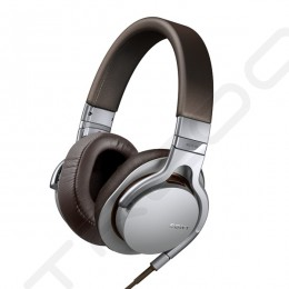 Sony MDR-1RMK2 On-Ear Headphone with Mic - Silver