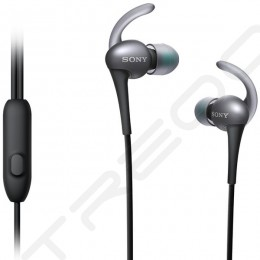 Sony MDR-AS800AP In-Ear Earphone with Mic - Black