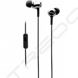 Sony MDR-EX255AP In-Ear Earphone with Mic - Black