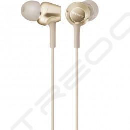 Sony MDR-EX255AP In-Ear Earphone with Mic - Gold