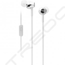 Sony MDR-EX255AP In-Ear Earphone with Mic - White