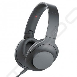 Sony MDR-H600A h.ear on 2 Over-the-Ear Headphone with Mic - Grayish Black