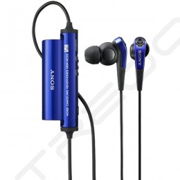 Sony MDR-NC33 Noise-Cancelling In-Ear Earphone - Blue