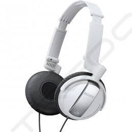 Sony MDR-NC7 Noise-Cancelling On-Ear Headphone - White