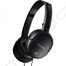 Sony MDR-NC8 Noise-Cancelling Over-the-Ear Headphone - Black