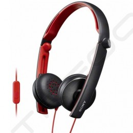 Sony MDR-S70AP On-Ear Headphone with Mic - Black