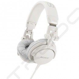 Sony MDR-V55 DJ-Style On-Ear Headphone - White