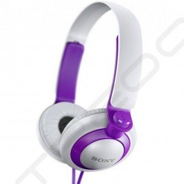 Sony MDR-XB200 Extra Bass On-Ear Headphone - Purple