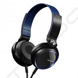 Sony MDR-XB400 Extra Bass On-Ear Headphone - Blue