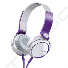 Sony MDR-XB400 Extra Bass On-Ear Headphone - Violet