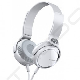 Sony MDR-XB400 Extra Bass On-Ear Headphone - White