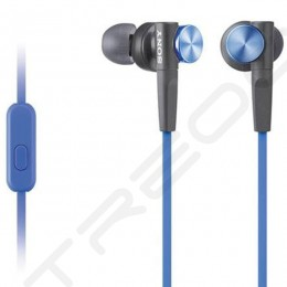 Sony MDR-XB50AP In-Ear Earphone with Mic - Blue