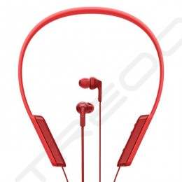 Sony MDR-XB70BT Wireless Bluetooth Neckband In-Ear Earphone with Mic - Red