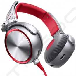 Sony MDR-XB920 Extra Bass On-Ear Headphone - Red