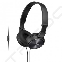 Sony MDR-ZX310AP On-Ear Headphone with Mic - Black