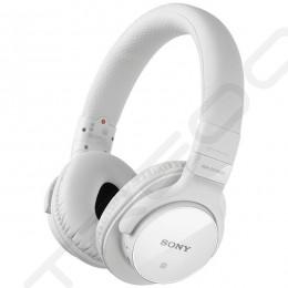 Sony MDR-ZX750BN Wireless Bluetooth On-Ear Headphone - White