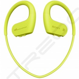 Sony NW-WS623 Walkman Waterproof Digital Audio Player & Wireless Bluetooth In-Ear Earphone with Mic - Lime Green