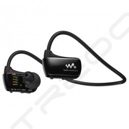 Sony NWZ-W274S Waterproof Walkman Neckband In-Ear Earphone - Black