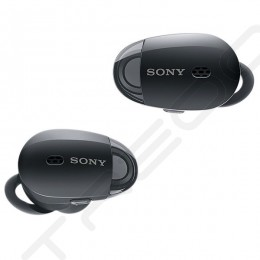 Sony WF-1000X True Wireless Bluetooth Noise-Cancelling In-Ear Earphone with Mic - Black