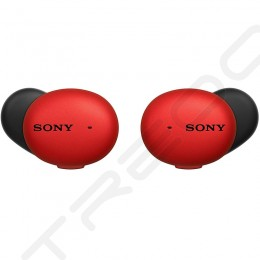 Sony WF-H800 h.ear True Wireless Bluetooth In-Ear Earphone with Mic - Red