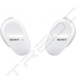 Sony WF-SP800N True Wireless Bluetooth Noise-Cancelling In-Ear Earphone with Mic - White