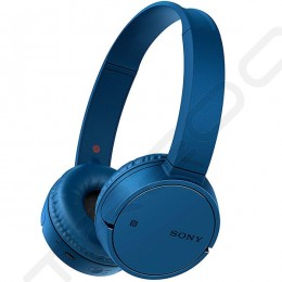 Sony WH-CH500 Wireless Bluetooth On-Ear Headphone with Mic - Blue