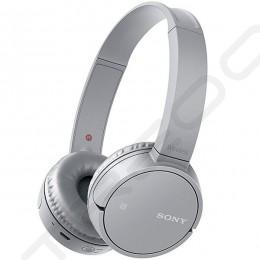 Sony WH-CH500 Wireless Bluetooth On-Ear Headphone with Mic - Grey